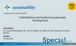 Child Welfare and Health for Sustainable Development