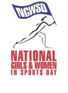 National Girls and Women in Sports Day Flier