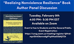Realizing Nonviolence Resilience Flyer