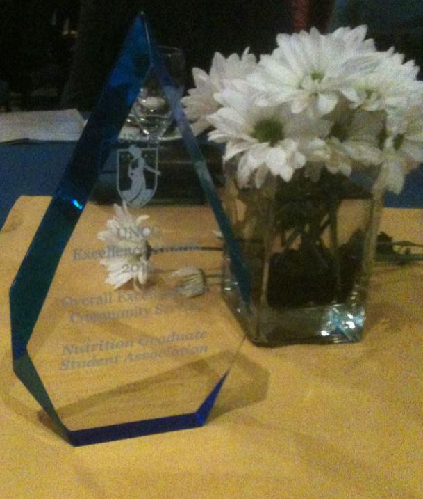 2012 Excellence Award