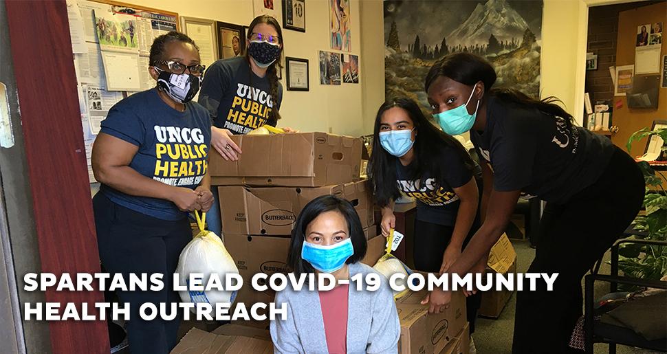 Spartans Lead COVID-19 Community Health Outreach