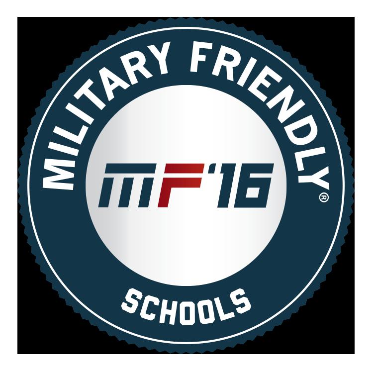 Military Friendly School 2016