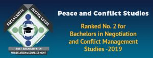 Peace and conflict studies poster