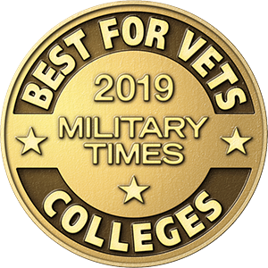 Best college for Vets badge