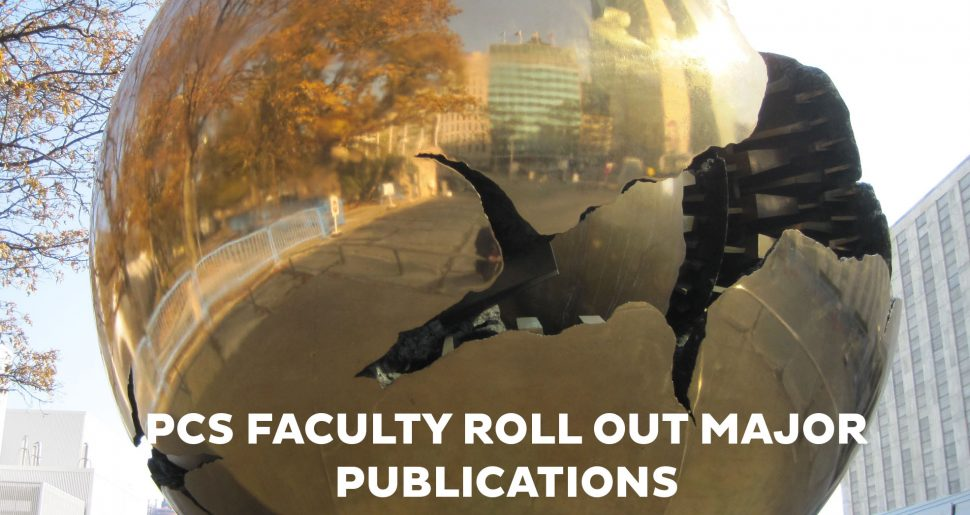 Faculty Roll Out Major Publications