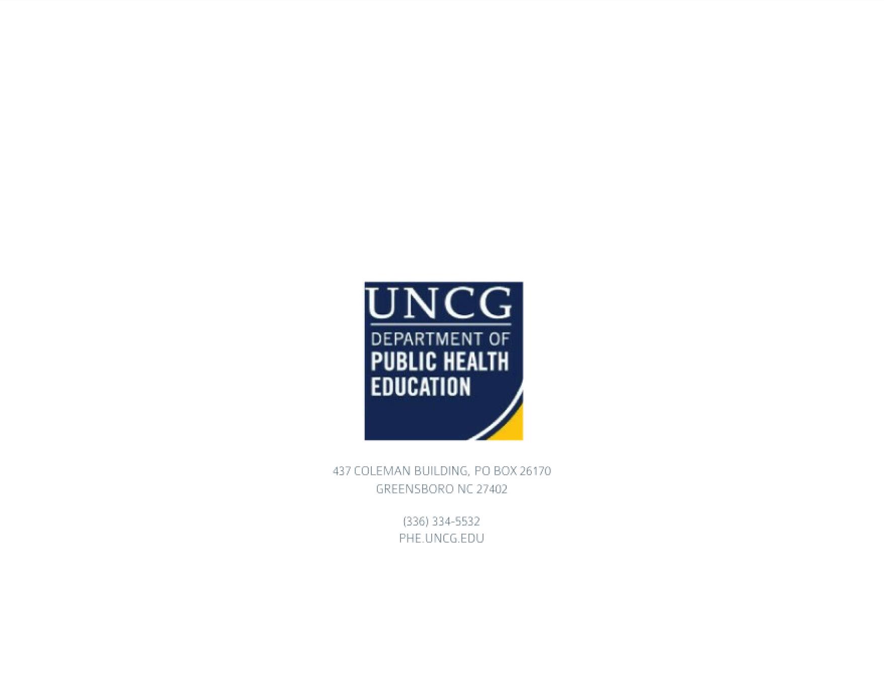 Undergraduate Advising Syllabus