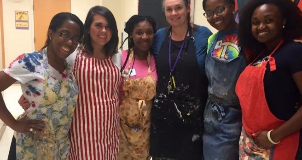 ESG Volunteering to serve meals