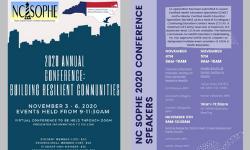 2020 NC SOPHE flyer