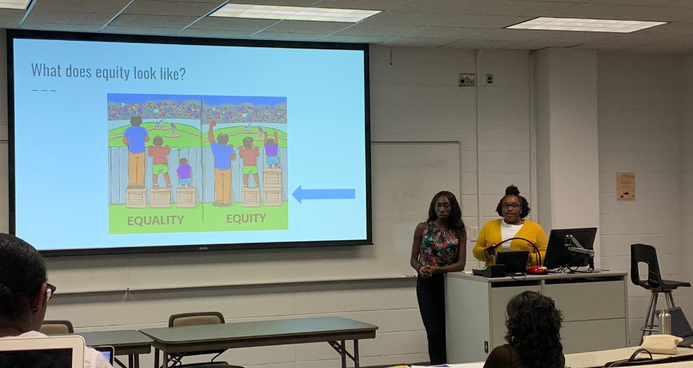 Graduate Students Present on Health Equity
