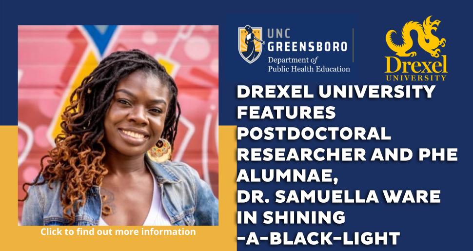 Dr. Samuella Ware PHE Alumnae