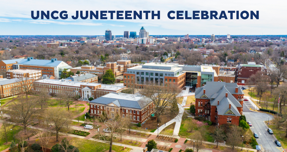 UNCG campus Juneteenth celebration