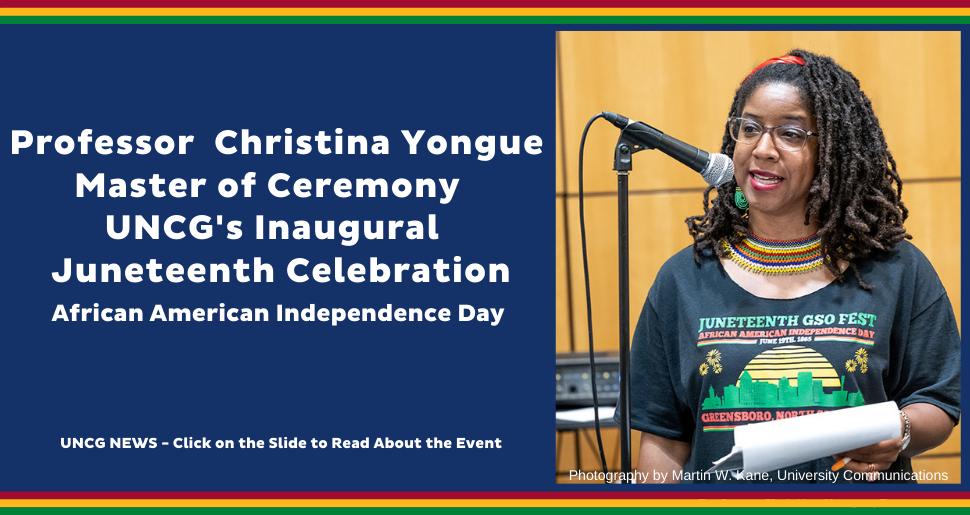 Christina Yongue Juneteenth Celebration