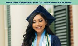 Female Alumni goes to Yale graduate school