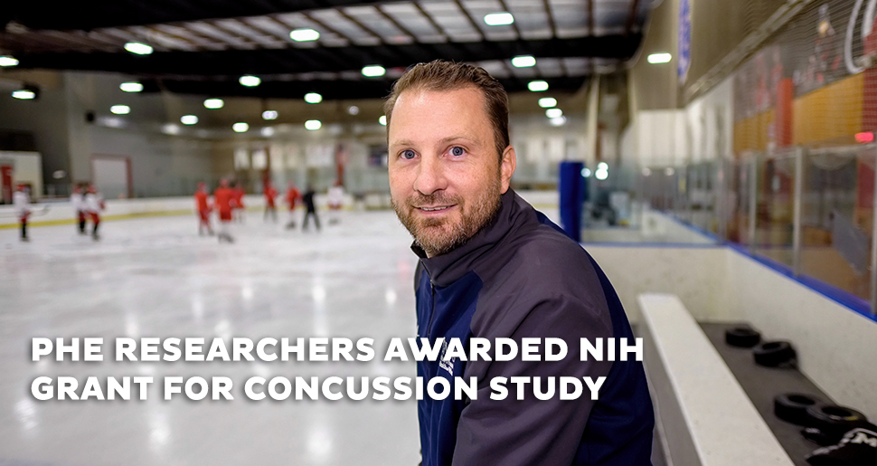 RESEARCHERS AWARDED NIH GRANT FOR CONCUSSION STUDY