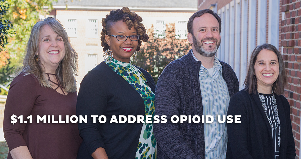 1.1 million to address opioid use