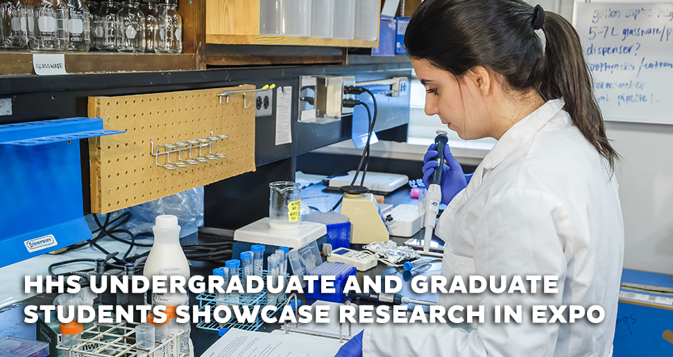Undergraduate and graduate students showcase research in virtual expo 2020