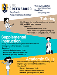 Tutoring and Supplemental Instruction