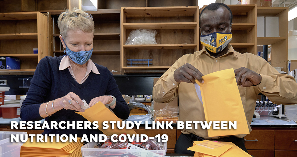 Researchers study link between nutrition and COVID-19