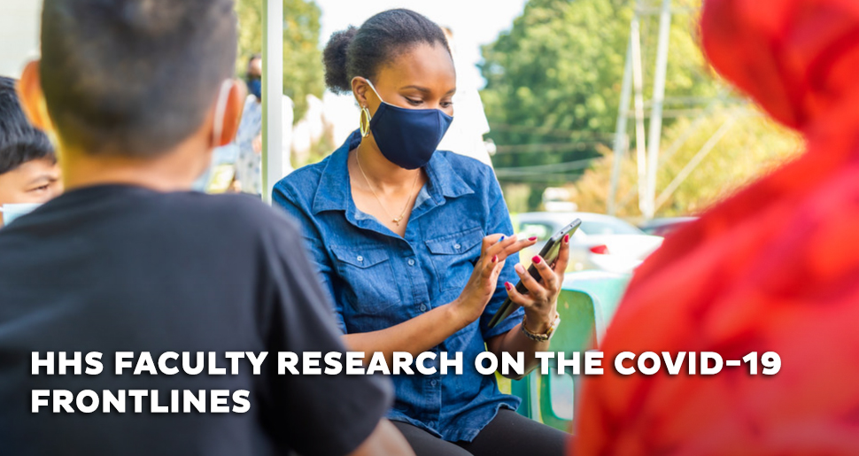 HHS faculty research on the COVID-19 frontlines