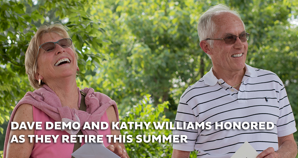 Kathy Williams and Dave Demo Retire - 2021