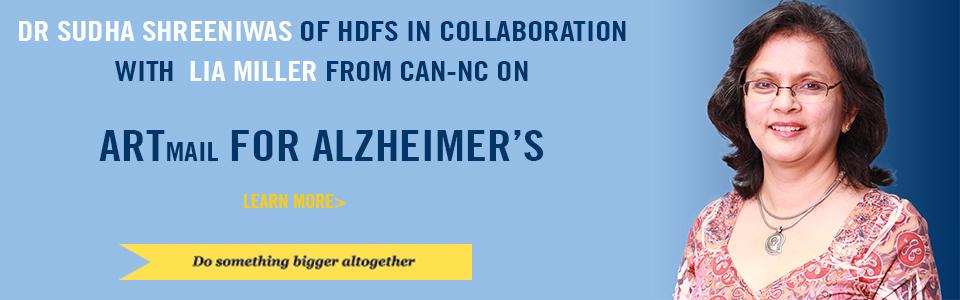 Artmail for Alzheimer's with Sudha Shreeniwas