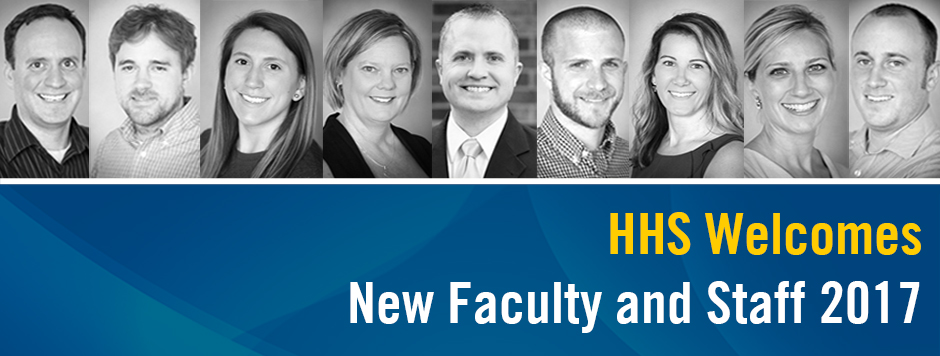 HHS New Faculty and Staff- 2017