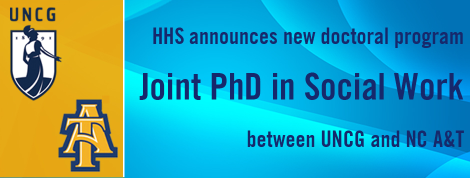 HHS announces joint social work PhD bewtween UNCG and NC A&T