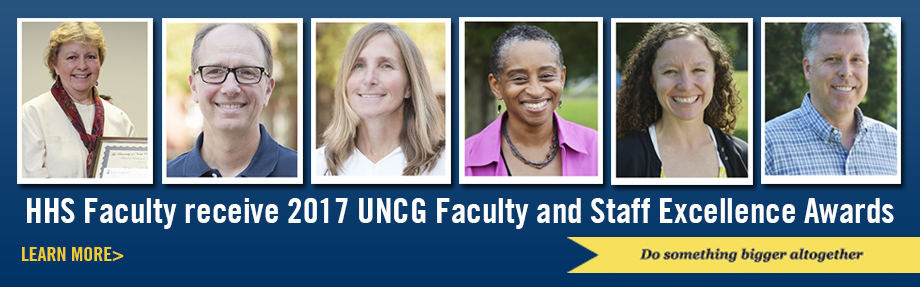 UNCG Fauclty and Staff Excellence Awards - 2017